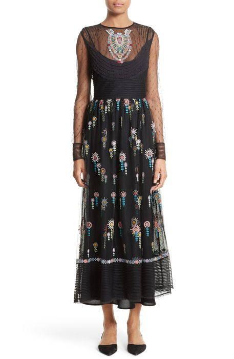 floral embroidered dress フローラル ドレス ワンピース レディースファッション