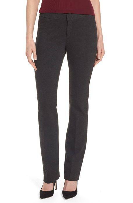 stretch knit trousers ストレッチ ニット パンツ ボトムス レディースファッション