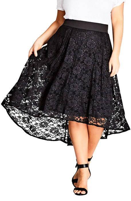 lush lace highlow skirt ラッシュ レース high low スカート レディースファッション ボトムス