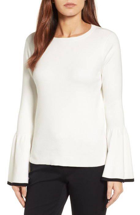 flare sleeve sweater フレアー スリーブ セーター レディースファッション トップス ニット