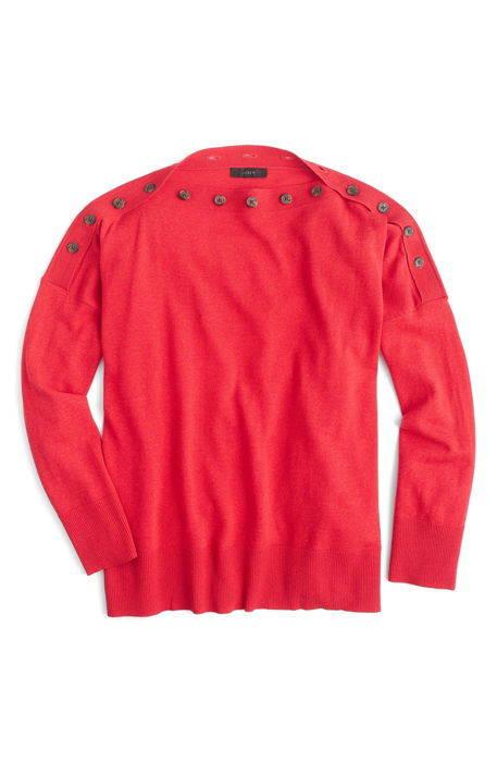 jcrew button boatneck sweater j.crew ボタン ボートネック セーター トップス ニット レディースファッション