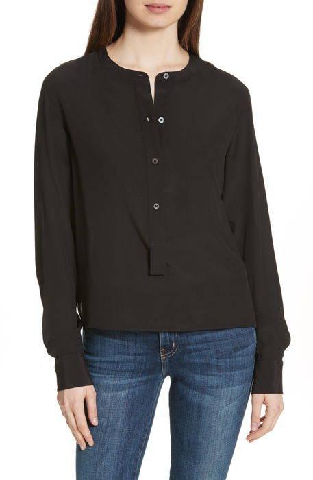 isalva classic georgette silk blouse クラシック ジョーゼット シルク ブラウス レディースファッション シャツ トップス