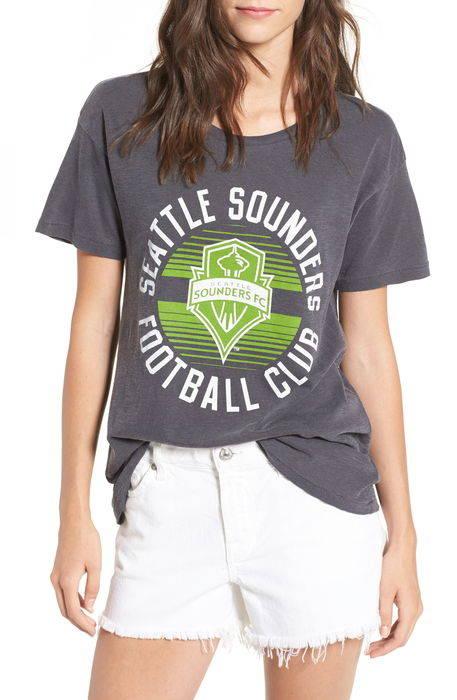 seattle sounders tee t シアトル シャツ トップス tシャツ カットソー レディースファッション