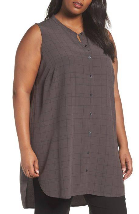 tencelsupsup blend tunic shirt tencel?< sup> ブレンド シャツ ブラウス レディースファッション トップス