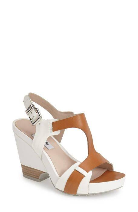 clarkssupsup narrative rosalie petal demiwedge leather sandal clarks?< sup> ' レザー サンダル レディース靴 コンフォートサンダル 靴