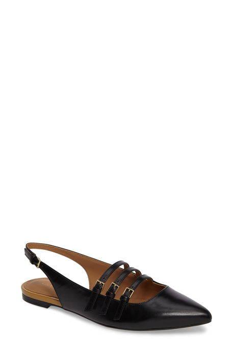genevieve strappy slingback flat ストラップ スリング フラット レディース靴 バレエシューズ 靴