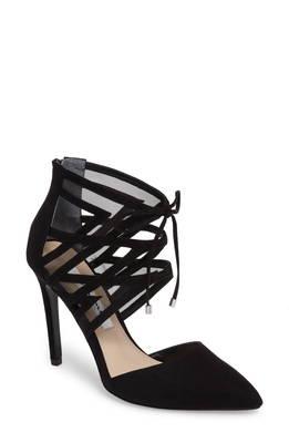アンクル ラップ トー パンプ rozene ankle wrap pointy toe pump パンプス レディース靴 靴