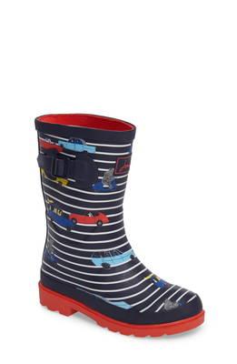 プリンテット ウォータープルーフ 防水 レイン ブーツ printed waterproof rain boot ベビー 靴 キッズ マタニティ