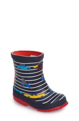 プリンテット ウォータープルーフ 防水 レイン ブーツ printed waterproof rain boot マタニティ キッズ ベビー 靴 スニーカー