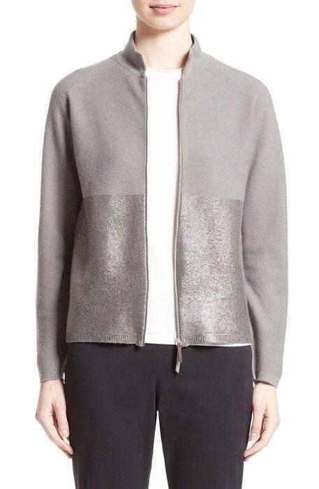 micro popcorn stitch zip cardigan ミクロ ポップコーン ステッチ ジップ カーディガン トップス レディースファッション セーター ニット
