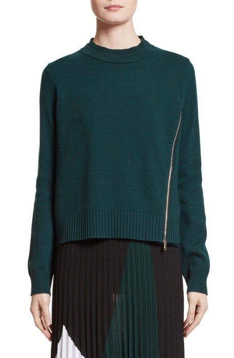wool silk cashmere pullover , シルク & カシミヤ プルオーバー ニット セーター トップス レディースファッション