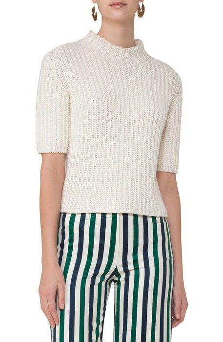 chunky knit wool cashmere sweater チャンキー ニット ウール & カシミヤ セーター レディースファッション トップス