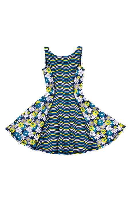 flow mixed print dress フローレス ミックス プリント ドレス ワンピース ベビー キッズ マタニティ