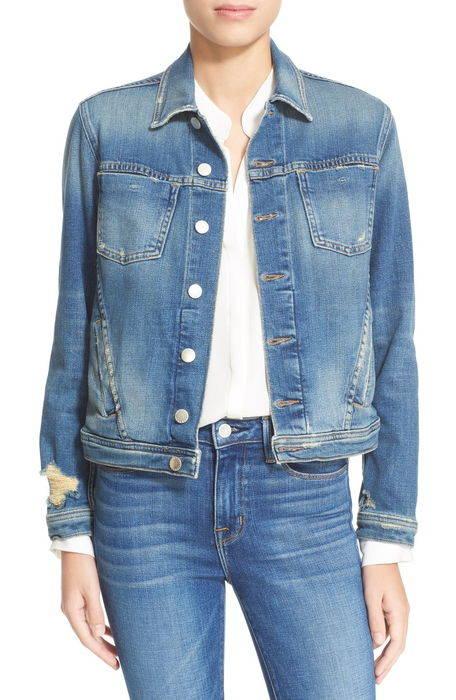 超格安価格 slim fit denim jacket スリム フィット デニム ジャケット アウター コート レディースファッション