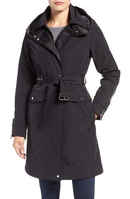 hooded trench coat トレンチ コート ジャケット アウター レディースファッション