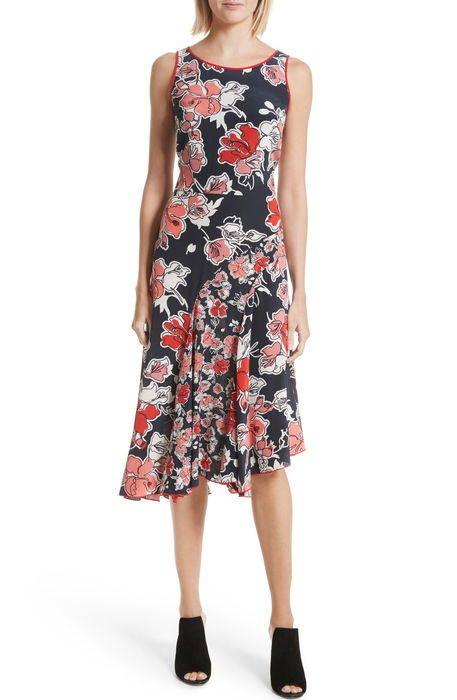 2017SS新作★floral print dress ドレス