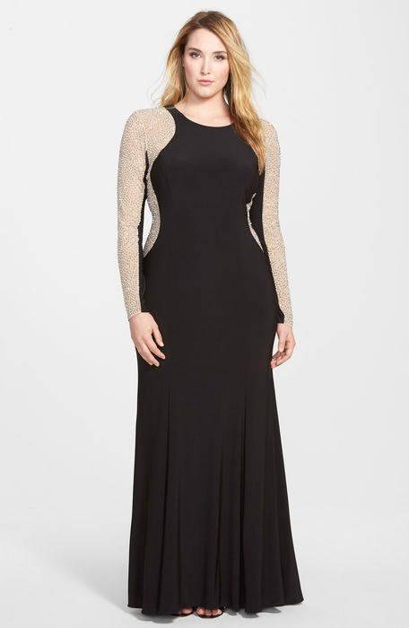 embellished jersey gown ジャージ ガウン ドレス レディースファッション
