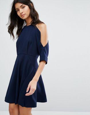 コールド ホイッスル ドレス ショルダー ワンピース ジョセフィン whistles josephine cold shoulder dress レディースファッション