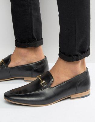 バックル 黒 クルト ブラック レザー イン ガイガー ローファー kg by kurt geiger buckle loafers in black leather メンズ靴 靴