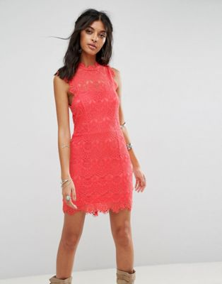 Free People Daydream Bodycon Lace Dress ドレス ワンピース