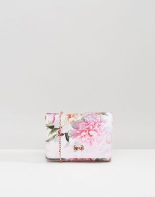 Ted Baker Massie Painted Posie Bow Detail Clutch