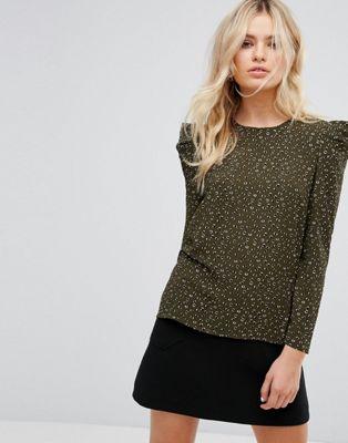 gathered sleeve blouse ギャザー ブラウス y.a.s スリーブ レディースファッション