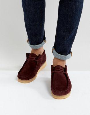 スウェード オリジナルス スエード クラークス �動� シューズ clarks originals wallabee suede shoes メンズ� �