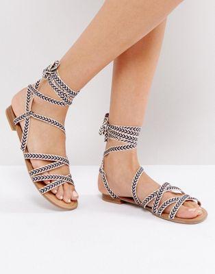 call it spring afauma gladiator flat sandals グラディエーター サンダル イット スプリング フラット コール 靴 レディース靴