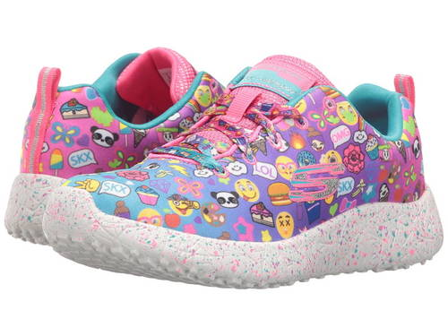 スケッチャーズキッズ バースト  SKECHERS KIDS Burst - Emoti-Cutie 81911L (Little Kid/Big Kid)