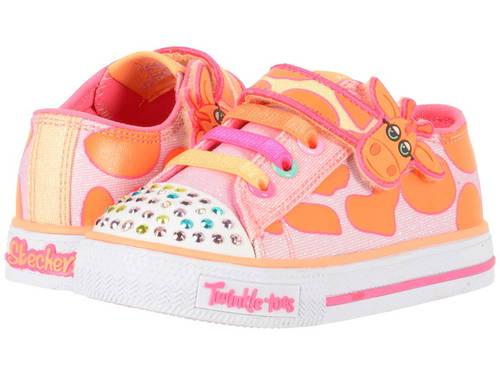 スケッチャーズキッズ トゥインクル トゥース  ライト SKECHERS KIDS Twinkle Toes - Shuffles 10772N Lights (Toddler/Little Kid)
