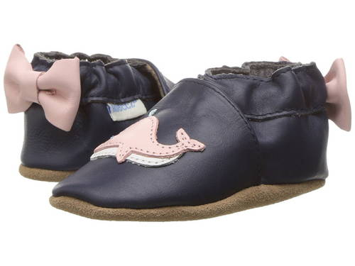 ロビーズ ウィニー ホエル ソフト ソール Robeez Winnie the Whale Soft Sole (Infant/Toddler)