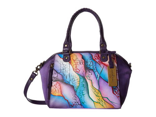 アヌシュカハンドバッグ ミニ コンバーチブル Anuschka Handbags 561 Mini Convertible Satchel