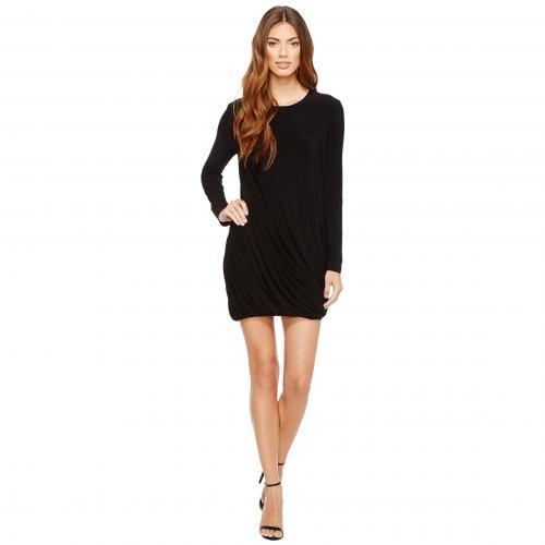 カマリカルチャーバイノーマカマリ ロング スリーブ ツイスト ミニ ドレス ワンピース KAMALIKULTURE by Norma Kamali Long Sleeve Twist Mini Dress