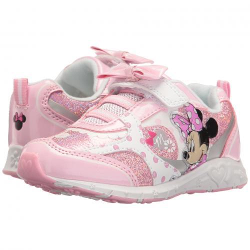 ヨスモキッズ ミニー ボウ スニーカー Josmo Kids Minnie Bow Sneaker (Toddler/Little Kid)