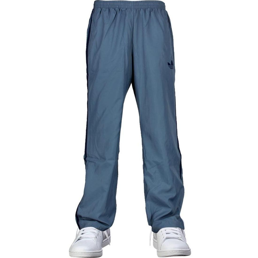 アディダス adidas nylon fb track pants slate new navy トラック パンツ ナイロン ニュー ユニセックスウエア レディースファッション