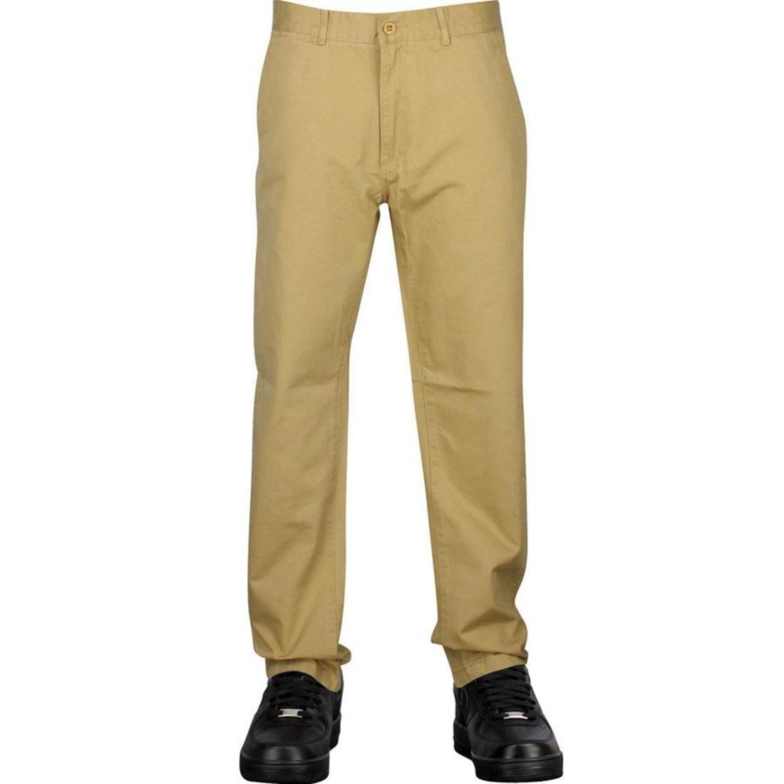 パンツ クオリティー チノ undefeated quality chino pants khaki レディースファッション ユニセックスウエア