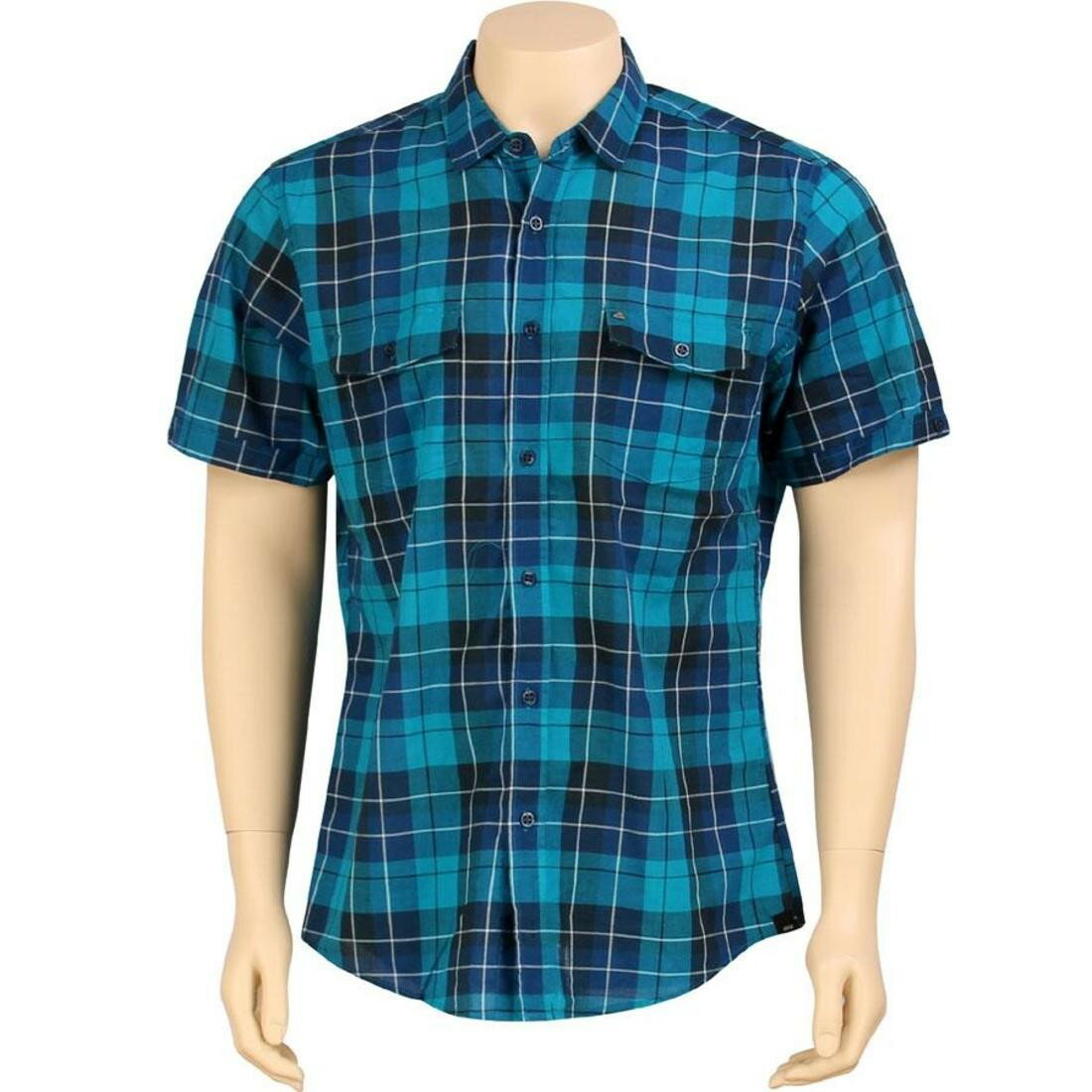 ショーツ シャツ スリーブ ハーフパンツ kr3w lowell short sleeve shirt blue レディースファッション ユニセックスウエア