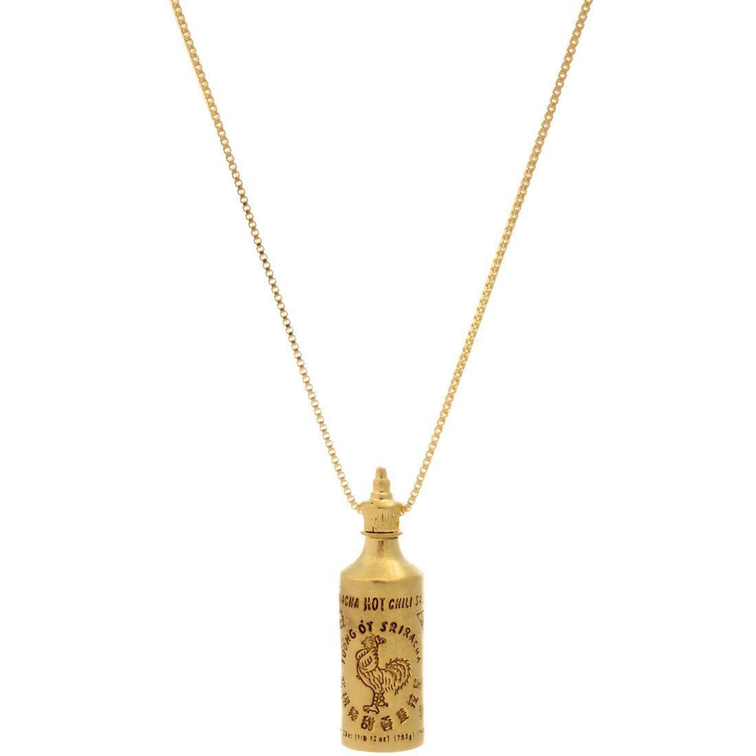 ベイト bait sriracha necklace ネックレス gold 男女兼用アクセサリー アクセサリー ペンダント ジュエリー