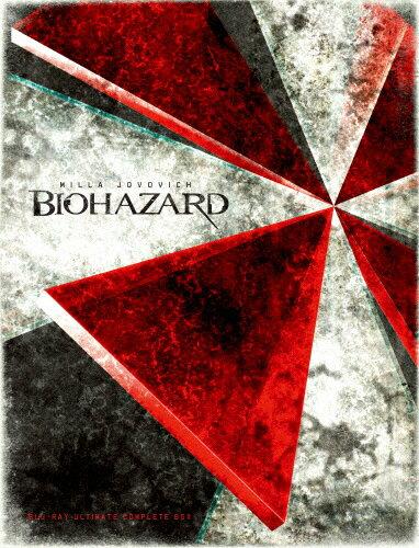【送料無料】[枚数限定][限定版]バイオハザード ブルーレイ アルティメット・コンプリート・ボックス【完全数量限定】(10枚組)/ミラ・ジョヴォヴィッチ[Blu-ray]【返品種別A】