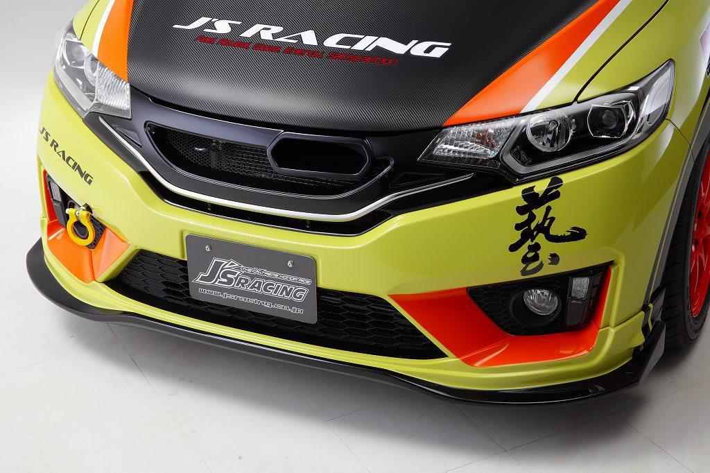 GK5 FIT3 RS フロントスポーツグリル タイプS カラードタイプ【accept international orders】