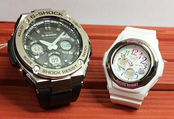 好きだよ恋人たちのGショックペア G-SHOCK BABY-G ペアウォッチ ペア腕時計 カシオ 2本セット gショック ベビーg アナデジ GST-W110-1AJF BGA-101-7B2JF