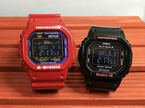 恋人たちのGショック ペア G-SHOCK BABY-G ペアウォッチ ペア腕時計 カシオ 2本セット gショック ベビーg GWX-5600C-4JF BGD-5000-1JF デジタル ソーラー電波