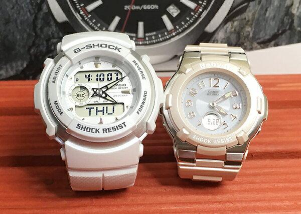 恋人たちのGショック ペア G-SHOCK BABY-G ペアウォッチ ペア腕時計 カシオ 2本セット gショック ベビーg  G-300LV-7AJF BGA-1100-4BJF