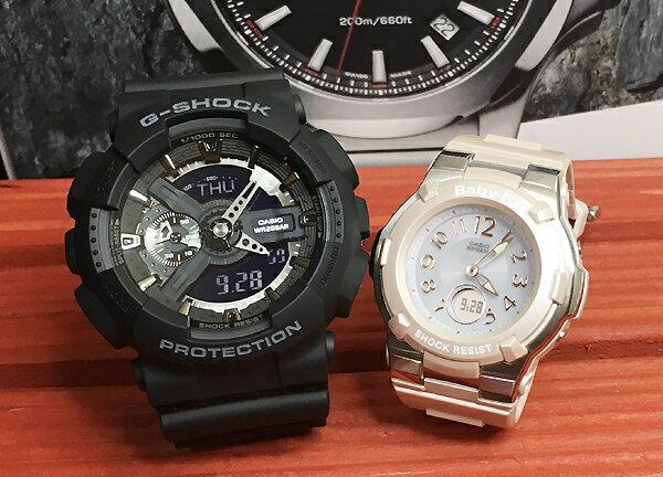 恋人たちのGショック ペア G-SHOCK BABY-G ペアウォッチ ペア腕時計 カシオ 2本セット gショック ベビーg GA-110-1BJF BGA-1100-4BJF