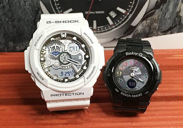 恋人たちのGショックペア G-SHOCK BABY-G ペアウォッチ ペア腕時計 カシオ 2本セット gショック ベビーg アナデジ GA-300-7AJF BGA-1110GR-1BJF