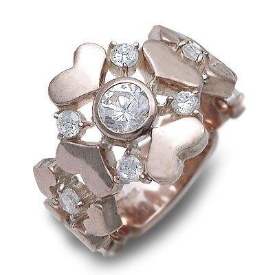 HIS jewelry collection ヒス・ジュエリーコレクション リング 指輪 キュービック ピンク 20代 30代 彼女 レディース 楽ギフ_包装 smtb-m