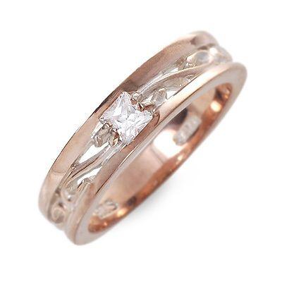 HIS jewelry collection ヒス・ジュエリーコレクション リング 指輪 キュービック ピンク 20代 30代 楽ギフ_包装 smtb-m