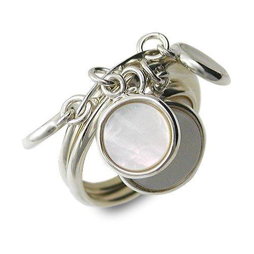 HIS jewelry collection ヒス・ジュエリーコレクション シルバー リング 指輪 ホワイト 20代 30代 彼女 レディース 楽ギフ_包装 smtb-m