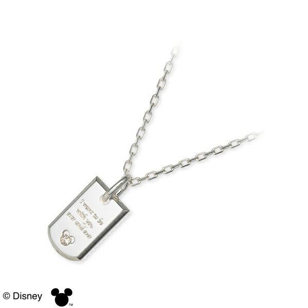 ディズニー Disney THE KISS ザ・キッス シルバー ネックレス ホワイト 20代 30代 人気 ブランド 楽ギフ_包装 smtb-m disney zone