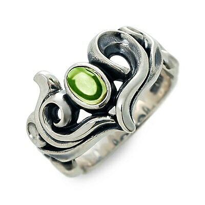 M's collection エムズコレクション  シルバー リング 指輪 ペリドット ホワイト 20代 30代 彼女 レディース 楽ギフ_包装 smtb-m